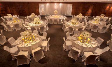 君爵厅婚宴布置