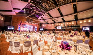 Wedding banquet in Grand Hall