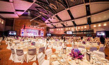 大会堂婚宴布置