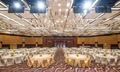 會議廳婚宴佈置