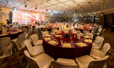 Wedding banquet in Meeting Room N201