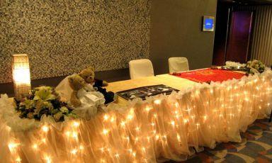 会议室S421婚宴布置