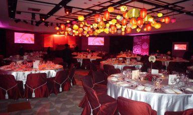 会议室S221婚宴布置